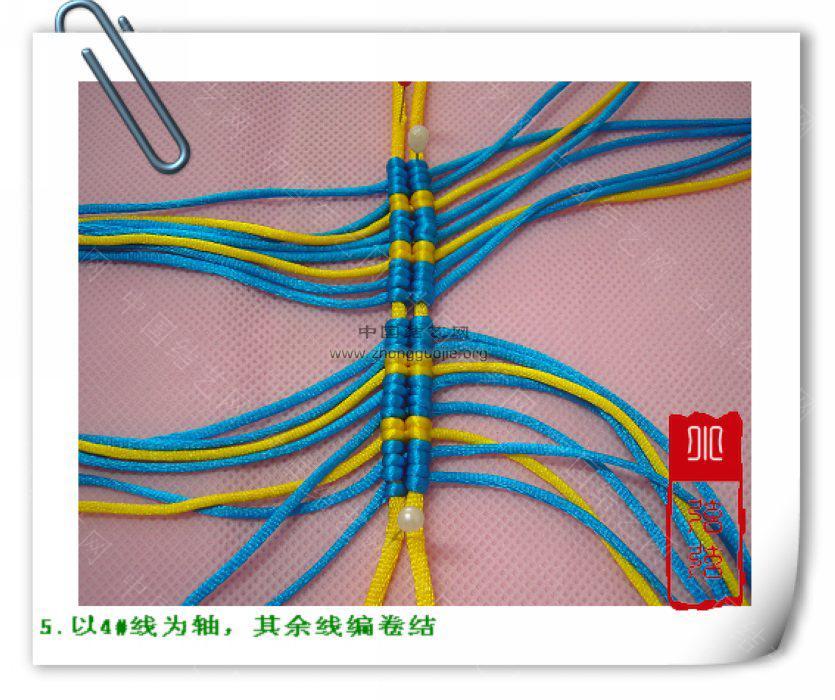 """中国结论坛 一款简单的鱼--------自""""游""""自在  立体绳结教程与交流区 10011223582b4ca9904537306c"""
