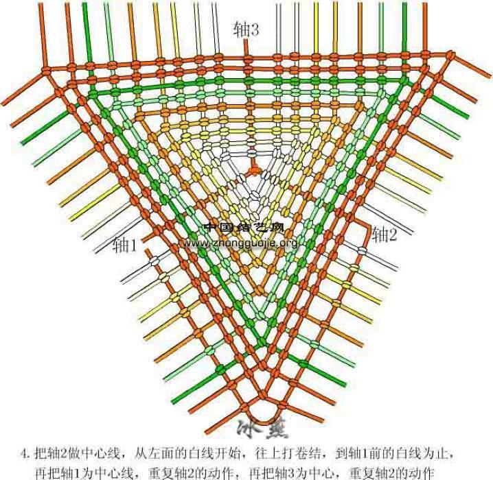 中国结论坛 三角粽编图  立体绳结教程与交流区 1001161449c3aa86fefa591b0f