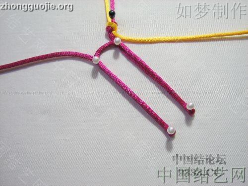 中国结论坛 三回复翼盘长编法教程  基本结-新手入门必看 100116233024217fd0b21fc10c