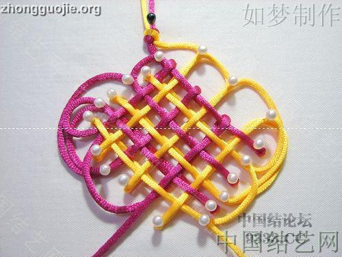 中国结论坛 三回复翼盘长编法教程  基本结-新手入门必看 1001162330380c4514057eee52