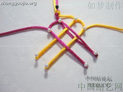 中国结论坛 三回复翼盘长编法教程  基本结-新手入门必看 10011623306cb1a7d411c46c08
