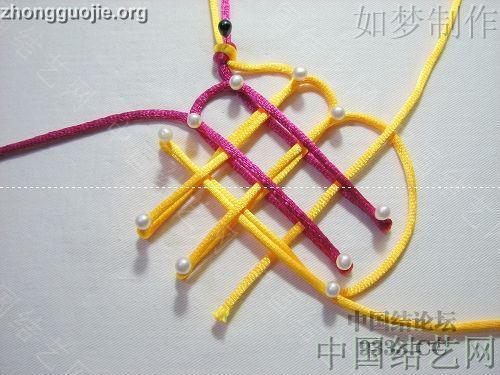中国结论坛 三回复翼盘长编法教程  基本结-新手入门必看 1001162330c64b26652d9a2055