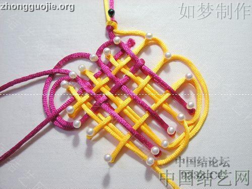 中国结论坛 三回复翼盘长编法教程  基本结-新手入门必看 1001162330efbfd39fa821ffbb
