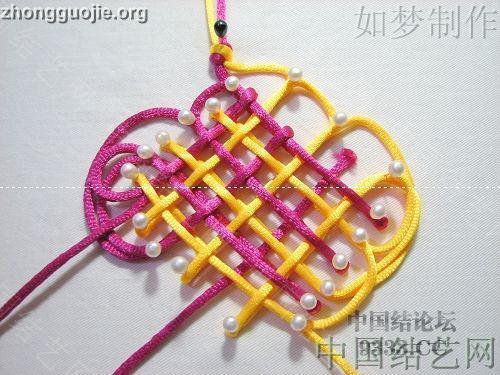 中国结论坛 三回复翼盘长编法教程  基本结-新手入门必看 1001162330f269744ca45cc459