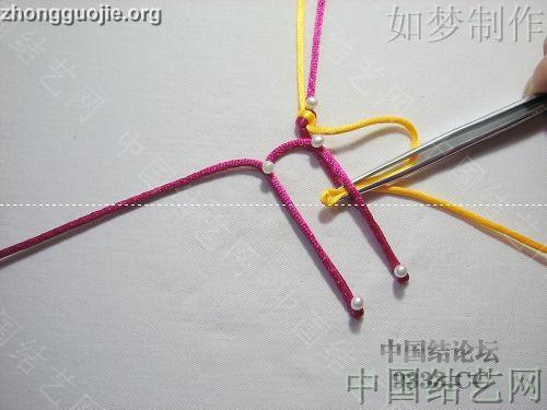 中国结论坛 盘长结的编法图解(附视频教程) 分级达标 基本结-新手入门必看 10011623331891b8adca5ae439