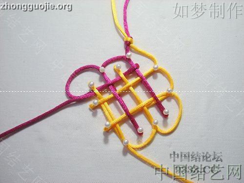 中国结论坛 盘长结的编法图解(附视频教程) 分级达标 基本结-新手入门必看 100116233332f2144e9f95e5aa