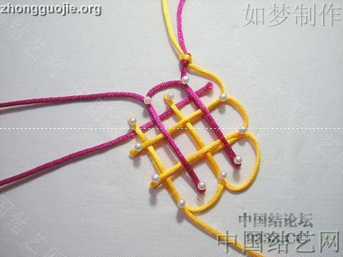 中国结论坛 盘长结的编法图解(附视频教程) 分级达标 基本结-新手入门必看 1001162333b9f4b51fc71caa6c