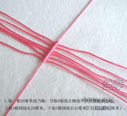 中国结论坛 心形戒指走线图来了  兰亭结艺 10042914392eb3b0abc4f5c82a