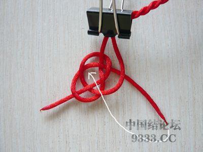 中国结论坛 用纽扣结做结尾·纽扣结教程  图文教程区 100529135033f354259005ed37