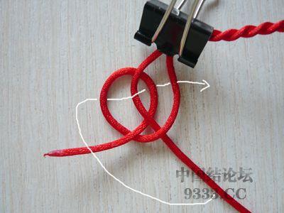 中国结论坛 用纽扣结做结尾·纽扣结教程  图文教程区 1005291350935065b8ce89e33a