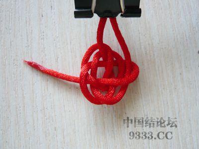 中国结论坛 用纽扣结做结尾·纽扣结教程  图文教程区 100529135094ea4bfe82647c8b