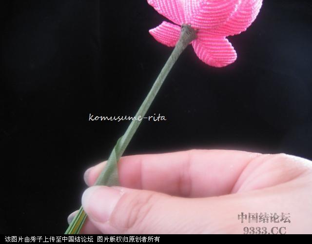 中国结论坛 我荷花的組合過程  立体绳结教程与交流区 10060518589041e71c2ce3765c