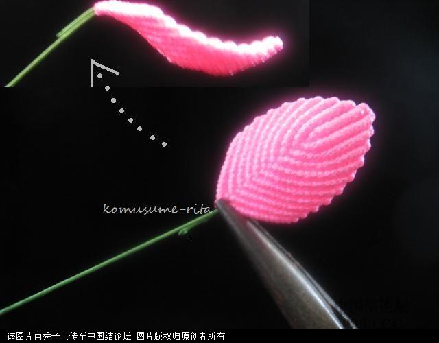 中国结论坛 我荷花的組合過程  立体绳结教程与交流区 10060518589c66ddc4e2a8f92b