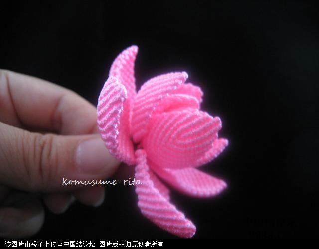 中国结论坛 我荷花的組合過程  立体绳结教程与交流区 1006051858ef1d5158c6a4da21
