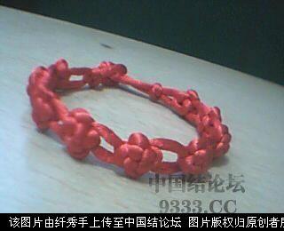 红绳手链-编法图解-作品展示-中国结论坛