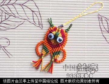 中国结论坛 小猫头鹰  兰亭结艺 1006261154534a9d16d36538ae