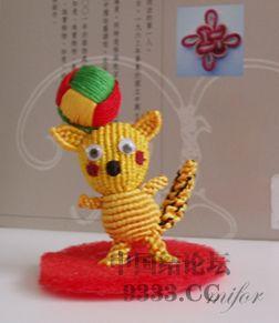 中国结论坛 【原创】自己设计的绳编玩偶  兰亭结艺 10062612018b8731be49efc30d