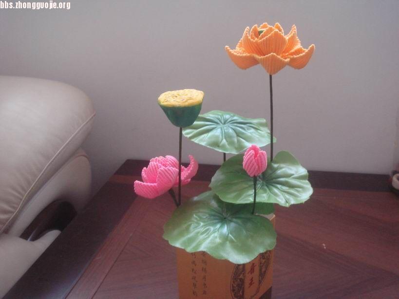 立体莲花折纸图解图片
