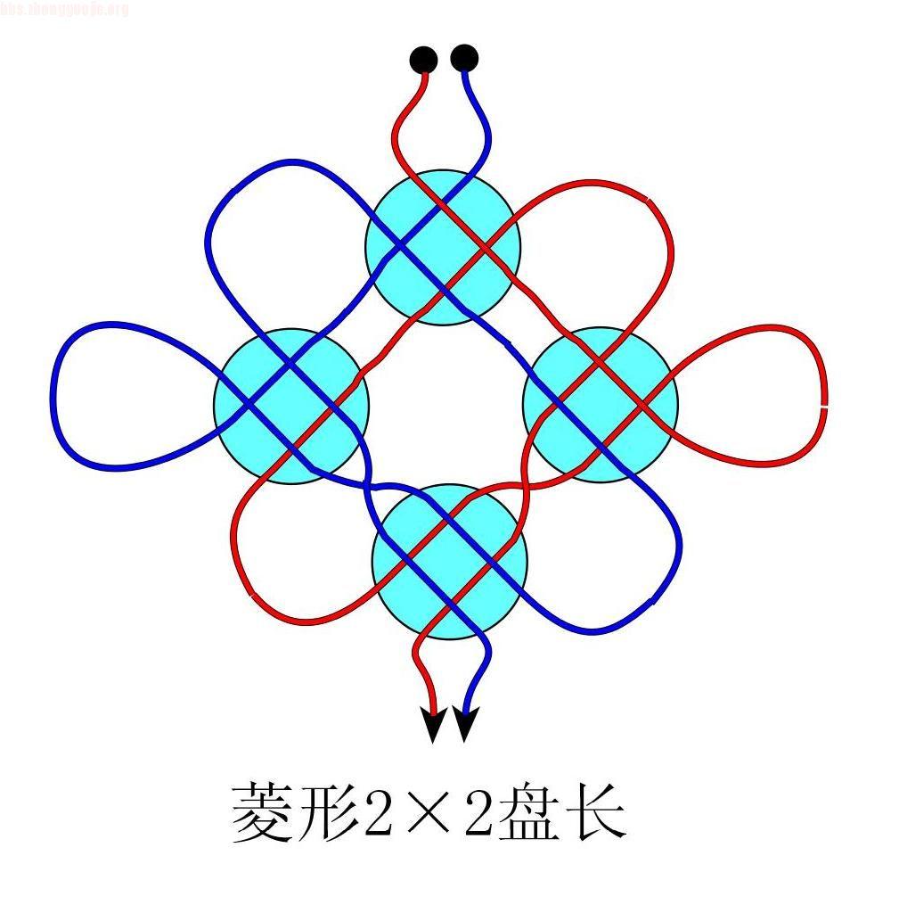 中国结论坛 菱形22冰花盘长徒手教程  冰花结(华瑶结)的教程与讨论区 1007261956af21d58248fc1387