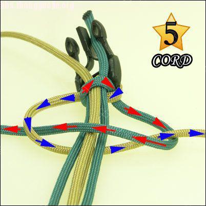 中国结论坛 偷了一个伞绳手链教程,希望大家喜欢!  图文教程区 1010211802239ea5109f361386