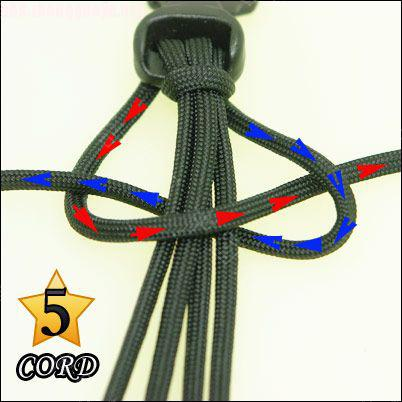 中国结论坛 偷了一个伞绳手链教程,希望大家喜欢!  图文教程区 10102118024991eaa88bcd500a