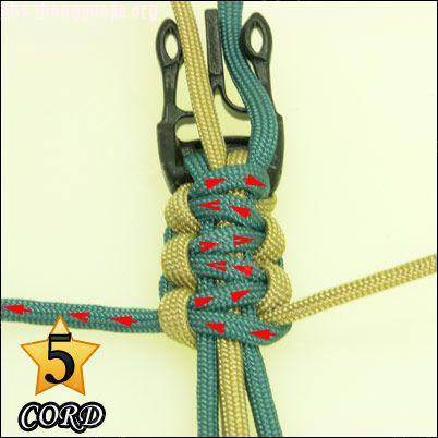 中国结论坛 偷了一个伞绳手链教程,希望大家喜欢!  图文教程区 1010211802e3ac7e724408cbd5