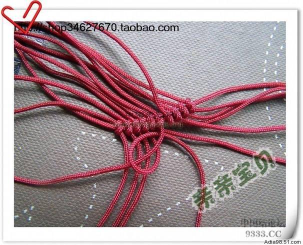 中国结论坛   立体绳结教程与交流区 51cb6294e4f16fdedf8a8a3eca96f6cc2