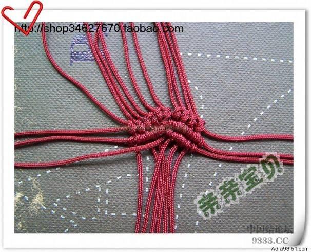 中国结论坛   立体绳结教程与交流区 51cb6294e4f16fdedf8a8a3eca96f6cc6
