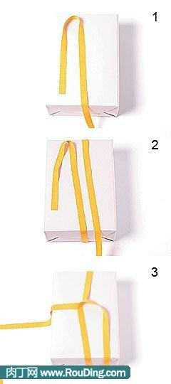 蝴蝶结的打法-系法编法图解和视频