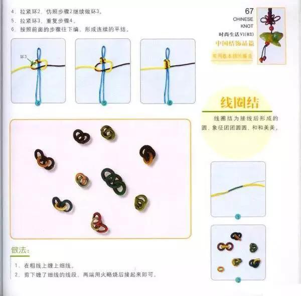 中国结的几种编织方法(简单易学)