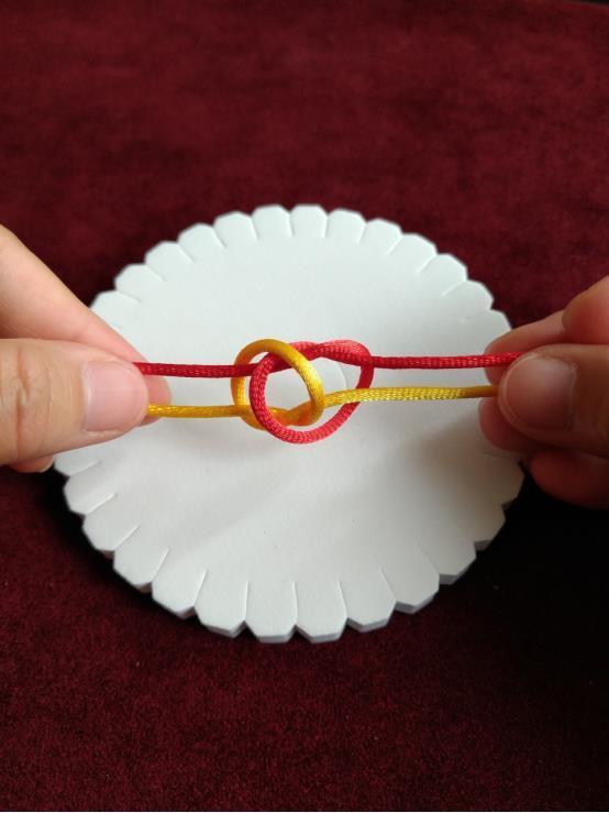 双联结的编法图解,中国结的基本结,新手入门必看!收藏学习