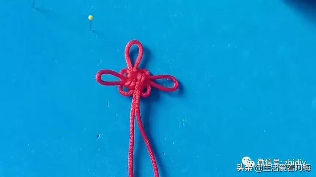 具有中国味道的编绳,分享3种经典编绳样式,附详细图解教程