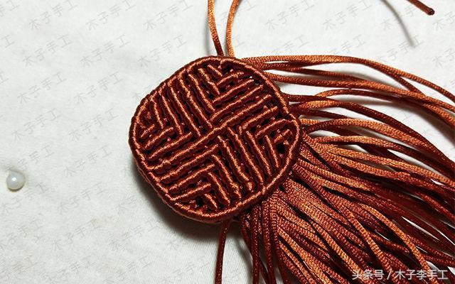中秋巧手:中秋节就该吃月饼,用绳子能编出来月饼你没想到吧