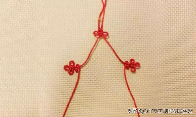 一根红绳就能搞定的中国结!尽显古典气质美