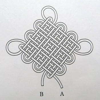中国结的编织方法(昨天留言要教程的请留心下)