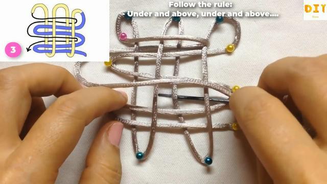 编织DIY,中国吉祥结的绳编方法,新手也能很快学会(图解)