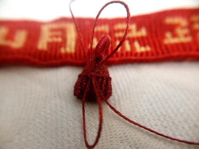 精致小巧的4角粽子,端午节主题编绳,绳结手工附教程