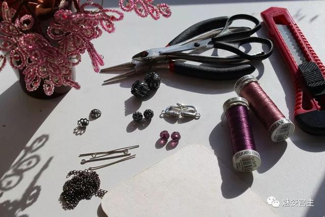 手工制作流苏耳饰,高端耳饰轻松做,附详细制作教程