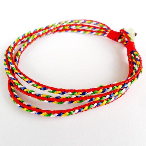 五彩绳代表什么意义,带五彩绳有什么禁忌