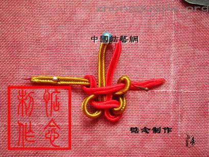 [小拖鞋的钥匙链-中国结