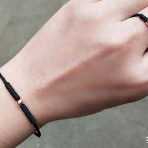 金店火爆的一款编绳小金豆手链和戒指,学会编法你也可以自己做了