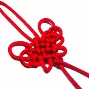 中国结-蝴蝶结的编法教程,简单又实用,赶紧来试试看呢