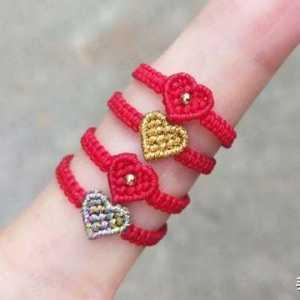 你们喜欢的爱心戒指教程来了,让它躺到你的收藏夹去吧