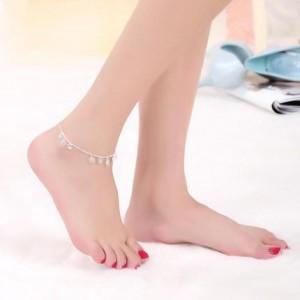 纤纤细步、悦耳不轻佻的时尚脚链