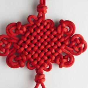 一根绳穿起来的中国结,过年挂家里,红火一整年