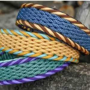 DIY教程:宽形伞绳手链教程