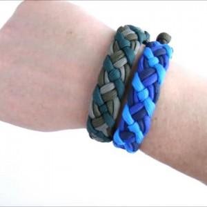 教你如何编织麦克斯同款的伞绳手链,是不是很漂亮