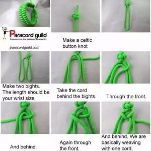 超全的伞绳手链编织简单教程,总有一款适合你!(上)
