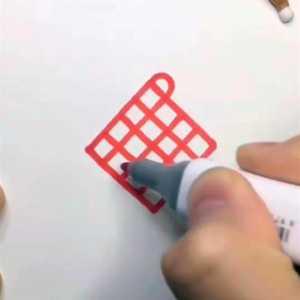 """美术老师画""""中国结""""教程,眼睛:这个简单!手:我退出群聊"""