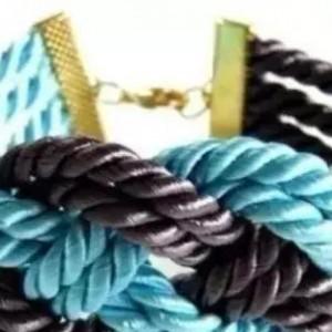 简单教你编织好看的手链,只要几分钟就能学会